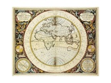 Map of the Old World (Western Hemisphere) 1661