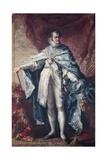 King Ferdinand VII Wearing Golden Fleece and Great Cross
