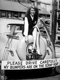 Movie Star Rita Hayworth Sacrificed Her Bumpers for World War 2 Scrap Metal Drive
