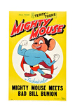 Mighty Mouse Meets Bad Bill Bunion