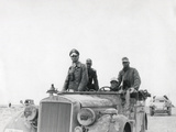 German General Rommel with the 15th Panzer Division Between Tobruk and Sidi Omar