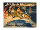 General Motors World War 2 Poster