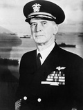Admiral Ernest King in Full Naval Uniform