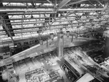 Massive Wing of a B-19 Bomber under Construction in a During World War 2 in 1941