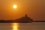 Nora Sunrise over Harbour  Near Pula  Cagliari Province  Sardinia  Italy  Mediterranean  Europe