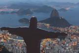 Statue of Christ the Redeemer  Corcovado  Rio De Janeiro  Brazil  South America
