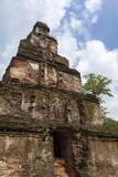 Satmahal Prasada  Quadrangle  Polonnaruwa  UNESCO World Heritage Site  Sri Lanka  Asia