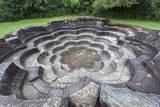 Bathing Pool (Nekum Pokuna)  Polonnaruwa  UNESCO World Heritage Site  Sri Lanka  Asia