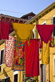 Washing Day  Laundry Drying  Castello  Venice  UNESCO World Heritage Site  Veneto  Italy  Europe