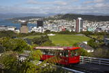 Wellington Cable Car  Wellington  North Island  New Zealand  Pacific
