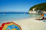 Vrika Beach  Antipaxos (Antipaxi)  Ionian Islands  Greek Islands  Greece  Europe