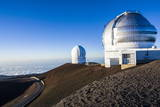 Observatory on Mauna Kea  Big Island  Hawaii  United States of America  Pacific