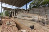 Reclining Buddha  Gal Vihara  Polonnaruwa  UNESCO World Heritage Site  Sri Lanka  Asia