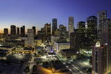 Downtown City Skyline  Houston  Texas  United States of America  North America