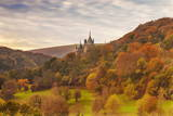 Castell Coch (Castle Coch) (The Red Castle)  Tongwynlais  Cardiff  Wales  United Kingdom  Europe