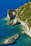 Tripitos Arch  Paxos  Paxi  Ionian Islands  Greek Islands  Greece  Europe
