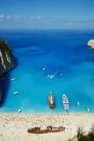 Shipwreck Beach  Zante Island  Ionian Islands  Greek Islands  Greece  Europe