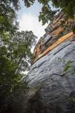 A View from the Base of Sigiriya (Lion Rock)  UNESCO World Heritage Site  Sri Lanka  Asia