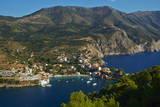 Assos Village  Cephalonia  Ionian Islands  Greek Islands  Greece  Europe