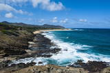 Lookout over Sandy Beach  Oahu  Hawaii  United States of America  Pacific