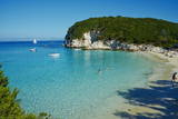 Vrika Beach  Antipaxos  Antipaxi  Ionian Islands  Greek Islands  Greece  Europe