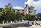Hotel Nacional and Cannon  Havana  Cuba  West Indies  Caribbean  Central America