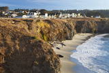 Coastal Town of Mendocino  California  United States of America  North America