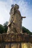 Golden Maitreya Statue  Beopjusa Temple Complex  South Korea  Asia