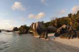 Anse Source D'Argent Beach  La Digue  Seychelles  Indian Ocean  Africa