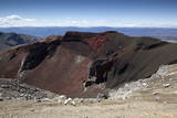 Red Crater Along the Tongariro Alpine Crossing