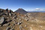 Tongariro Alpine Crossing with Mount Ngauruhoe