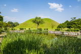 Tumuli Park with its Tombs from the Shilla Monarchs