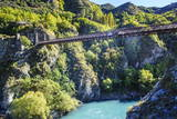 Aj Hackett Bungy Jumping on the Kawarau Bridge over the Kawarau River Near Queenstown