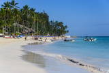 Beach of Bavaro  Punta Cana  Dominican Republic  West Indies  Caribbean  Central America