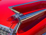 Tail Fin and Rear Lights of 1959 Cadillac Eldorado  Melbourne  Victoria  Australia