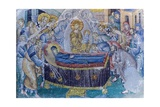 Mosaic  Dormition of Virgin Mary