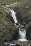 Waterfall and Stream  Iceland  Polar Regions