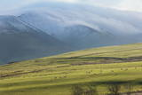Winter Clouds Clinging to the Skiddaw Massif