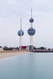 The Kuwait Towers  Kuwait City  Kuwait  Middle East