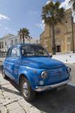 Old Fiat in Santa Cesarea Terme  Puglia  Italy  Europe