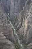 Gunnison River Deep in the Canyon from Kneeling Camel View Point