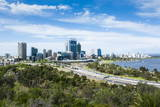 The Skyline of Perth  Western Australia  Australia