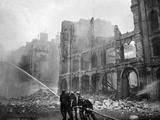 Fire Fighting During World War 2 Battle of Britain