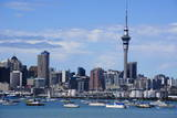 Skyline of Auckland  North Island  New Zealand  Pacific