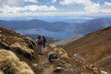 Tongariro Alpine Crossing with View of Lake Taupo