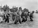 Gen Douglas Macarthur Wades Ashore During Initial Landings at Leyte Island
