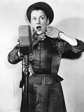 Beatrice Lillie at the Microphone