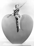 Lana Turner Aims Valentine Greetings