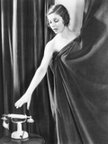 Loretta Young in Studio Publicity Pose at the Time of the Ruling Voice