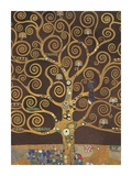 Tree of Life (Brown Variation) V Reproduction d'art par Gustav Klimt